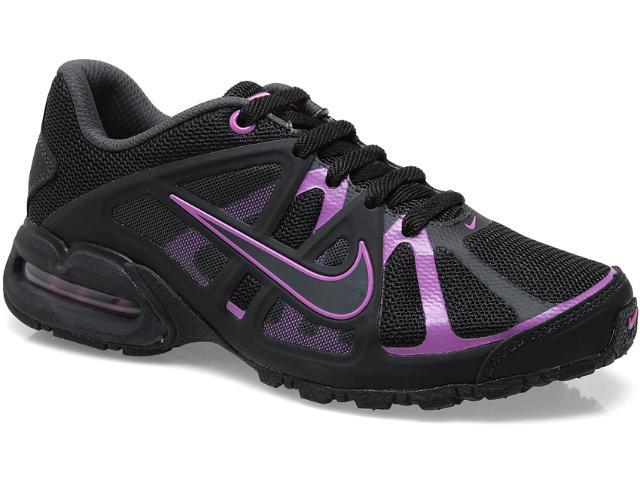 Tênis Feminino Nike 580434-004 Air Max Lte 3 Preto/violeta