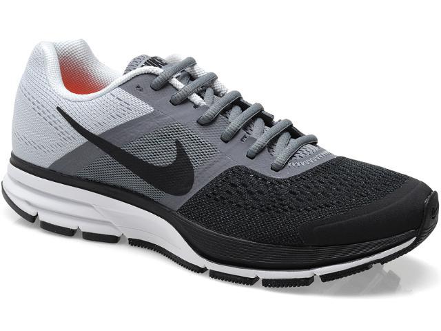 Tênis Masculino Nike 599205-001 Air Pegasus + 30 Preto/chumbo/gelo