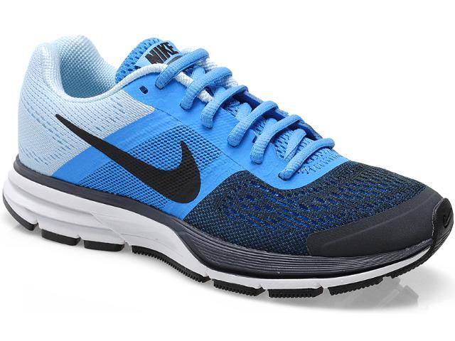 Tênis Feminino Nike 599392-400  Wmns Air Pegasusu + 30 Marinho/azul/gelo