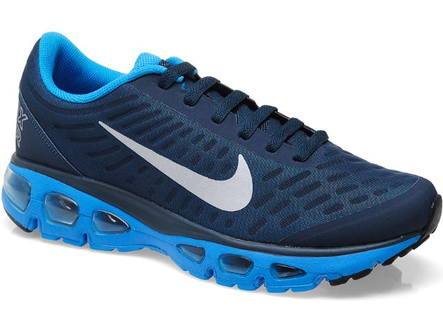 Tênis Masculino Nike 555416-404 Air Max Tailwind +5 Azul/marinho