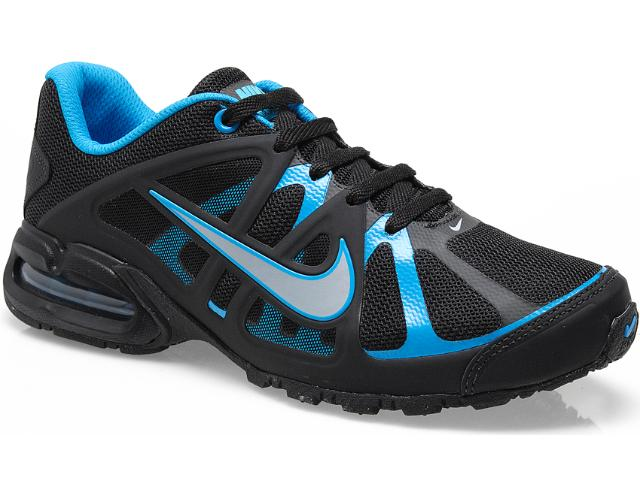 Tênis Masculino Nike 580429-004 Air Max Lte 3 Preto/azul