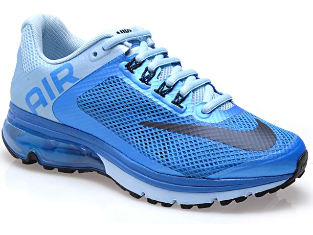 Tênis Feminino Nike 555764-444 Wmns Air Max Excellerat Azul Claro/celeste