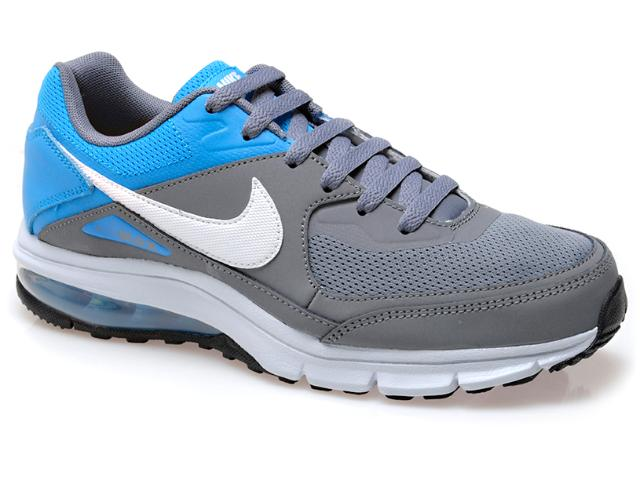 Tênis Masculino Nike 610639-014 Air Max Rebel Cinza/azul