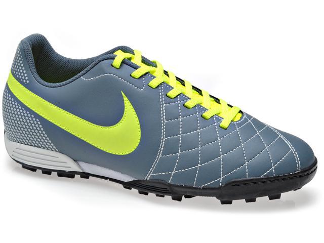 Tênis Masculino Nike 603786-400 Flare tf Cinza/limão