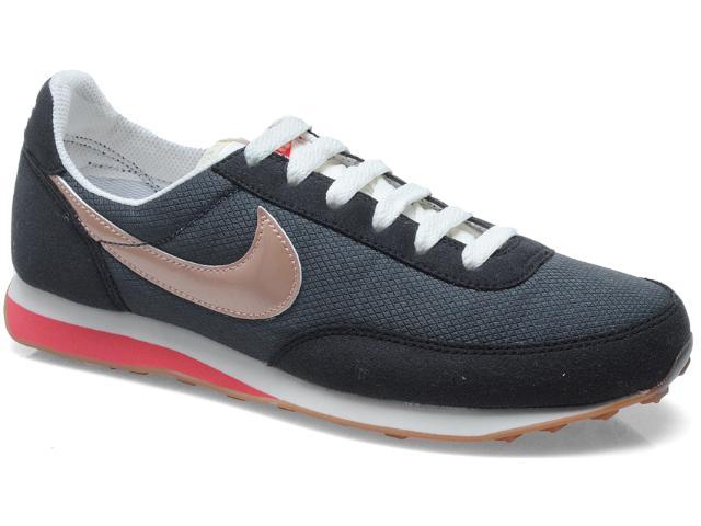 Tênis Feminino Nike 586310-001 Wmns Elite Textile Preto