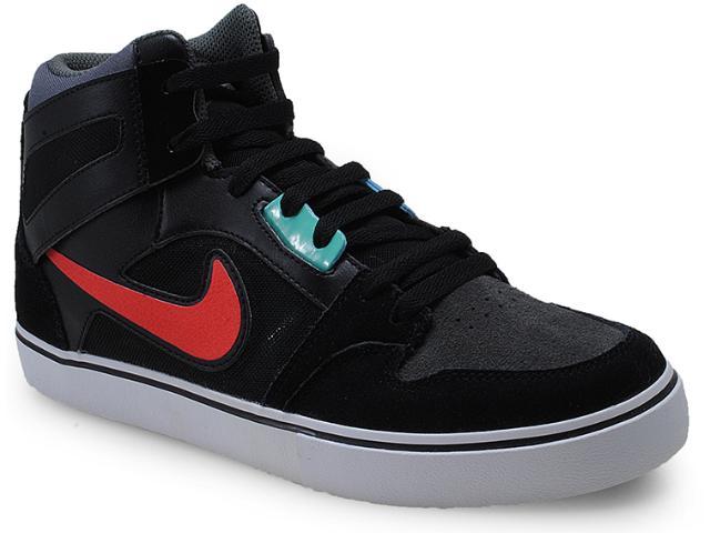 Tênis Masculino Nike 598373-060 Ruckus 2 High lr Preto/laranja