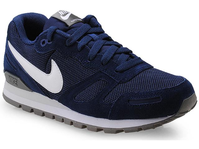 Tênis Masculino Nike 429628-405 Air Waffle Trainer Azul/branco/cinza