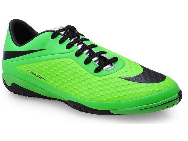 Tênis Masculino Nike 599849-303 Hypervenom Phelon ic Verde/preto