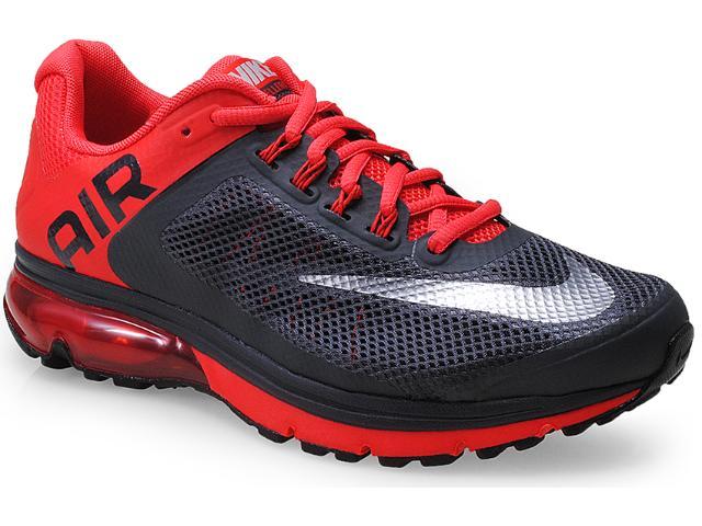 Tênis Masculino Nike 555331-018 Air Max Excellerate+ 2 Chumbo/vermelho