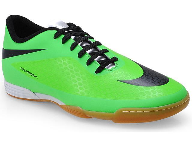 Tênis Masculino Nike 633415-303 Hypervenom Phade ic Verde/preto
