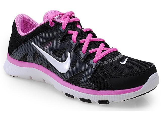 Tênis Feminino Nike 616694-007 Flex Supreme tr ii Preto/lilas