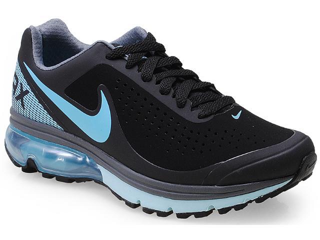 Tênis Feminino Nike 633061-002 Air Max Supreme 2  Preto/azul Ceu