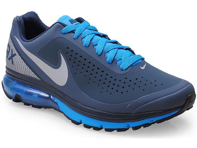 Tênis Masculino Nike 633024-400 Air Max Supreme 2 Azul/cinza
