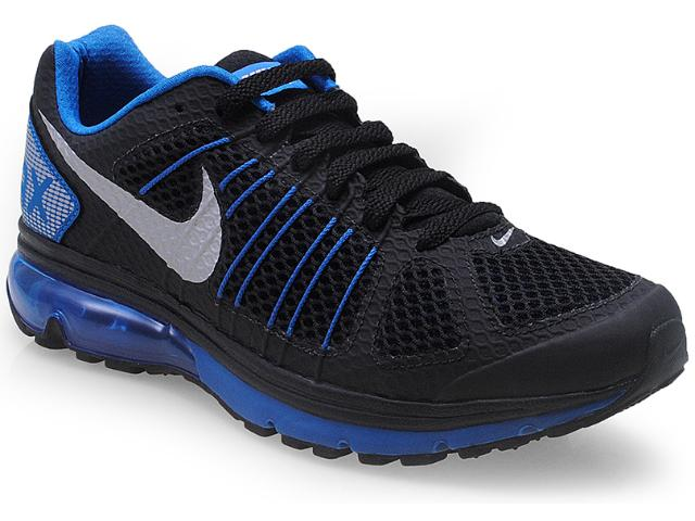 Tênis Masculino Nike 632630-024 Air Max Finale+ 2 Preto/azul