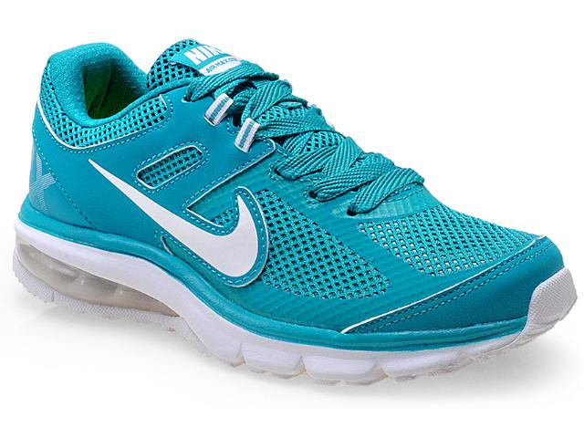 Tênis Feminino Nike 599390-301 Air Max Defy rn Verde Agua/branco