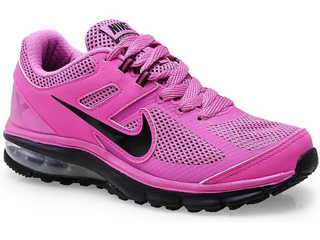 Tênis Feminino Nike 599390-500 Air Max Defy rn Rosa/preto
