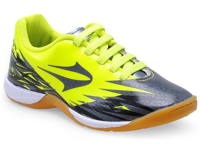 d3f68bb405 Tênis Masc Infantil Topper 4129382 Indoor Vlc j Verde Neon preto