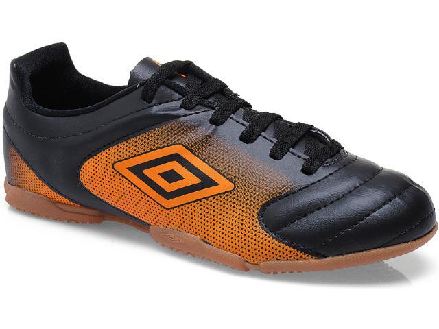 Tênis Masculino Umbro Striker Of72019 Preto/laranja