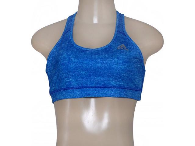 Top Feminino Adidas Aa7195 Graf Techfit w   Azul