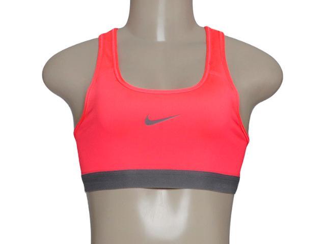 Top Feminino Nike 650831-646 Pro Classsic Rosa Neon