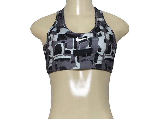 Top Feminino Nike 805547-010 Victory Compression  Preto/cinza