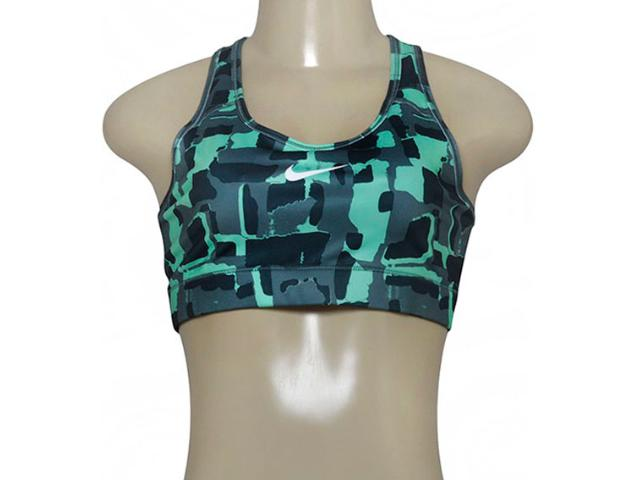 Top Feminino Nike 805547-364 Victory Compression Grafite/verde