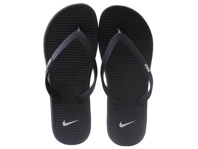 Chinelo Masculino Nike 488160-018 Solarsoft Thong ii  Preto/cinza