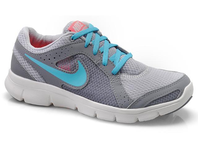 Tênis Feminino Nike 599570-003 Flx Experience rn 2 Msl Cinza/grafite/azul Claro