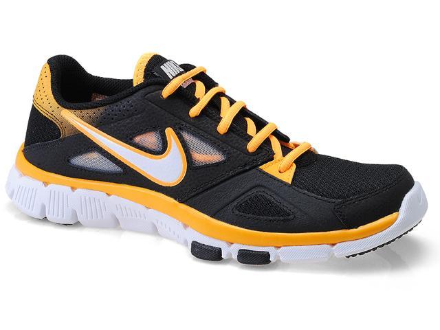 Tênis Masculino Nike 599558-008 Flex Supreme tr 2 Preto/laranja