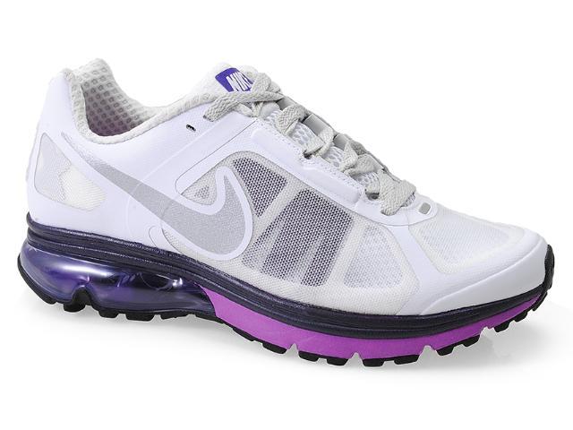 Tênis Feminino Nike 539932-103 Wmns Air Max Finale+ Branco/roxo