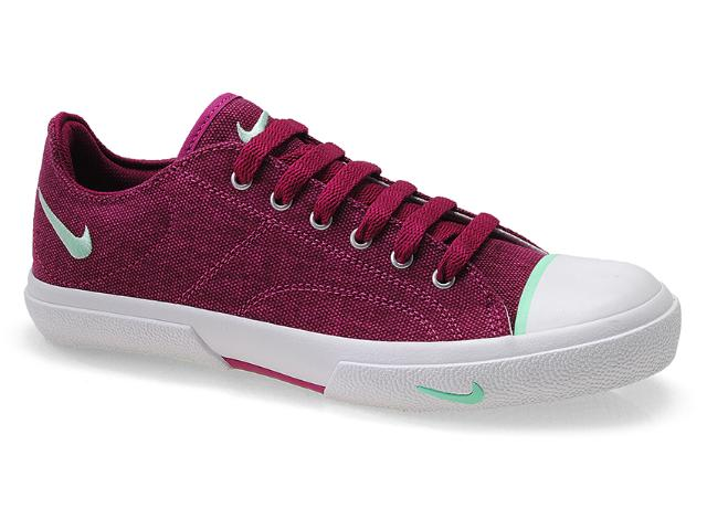 Tênis Feminino Nike 432882-601 Wmns Biscuit Canvas br Uva/branco