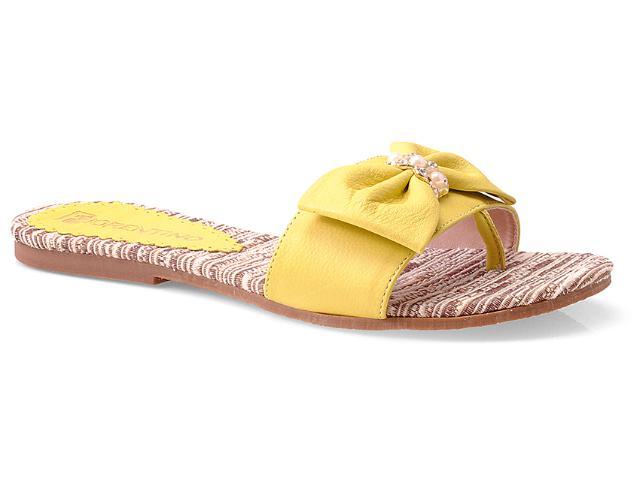 Tamanco Feminino Fiorentino 021 Amarelo
