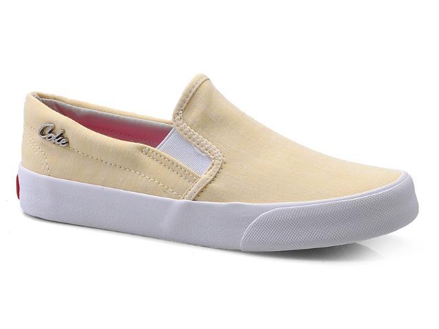 Tênis Feminino Coca-cola Shoes Cc0445 Amarelo