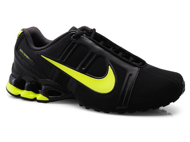 Tênis Masculino Nike 558441-004 Impax Contain ii sl Emb Preto/limão