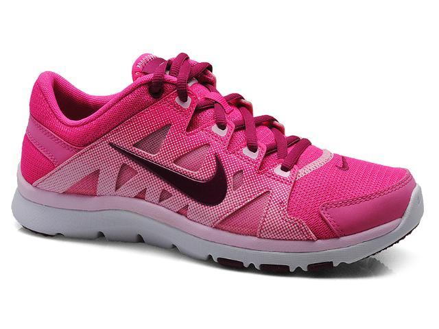Tênis Feminino Nike 616694-600 Flex Supreme tr ii Rosa/pink