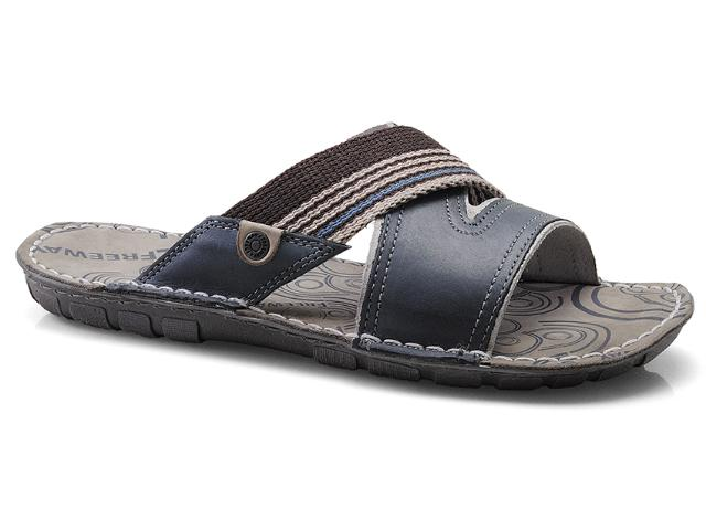 Chinelo Masculino Free Way Acqua-2 Azul Sky