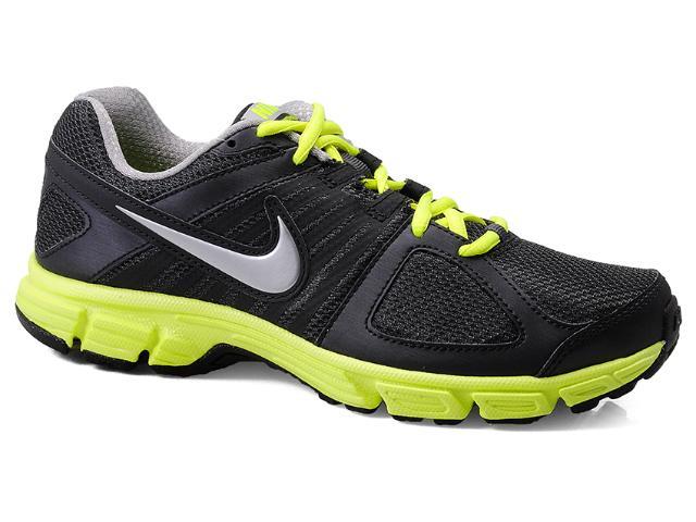 Tênis Masculino Nike 538258-021 Downshifter 5 Msl Preto/limão