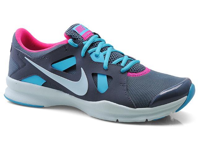 Tênis Feminino Nike 599553-403 In-season tr 3 Cinza/celeste