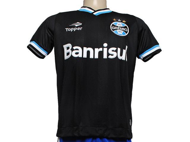 Camiseta Masculina C2085m Grêmio Iii 2013 Preto