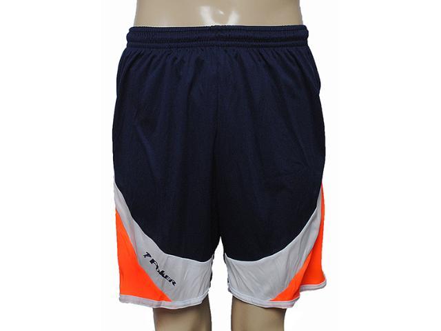 Calçao Masculino Poker 03134 Marinho/branco/laranja