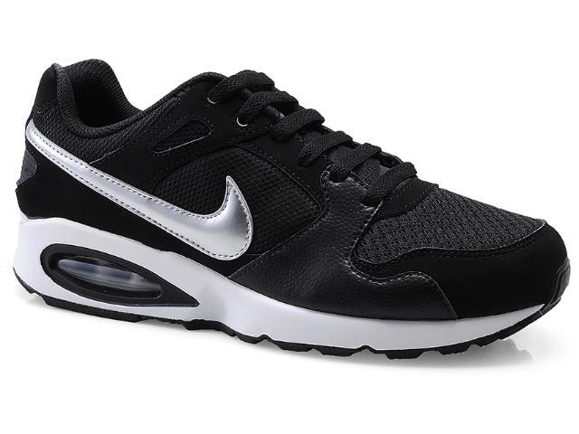 Tênis Masculino Nike 555423-002 Air Max Coliseum Racer Preto/prata/bco