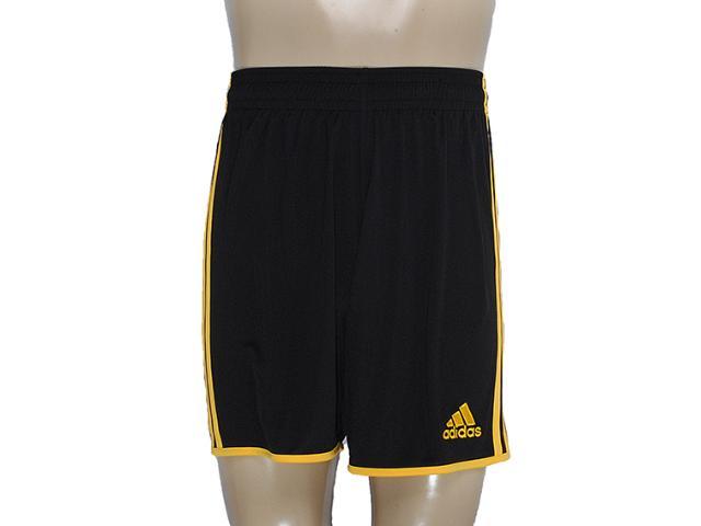 Calçao Masculino Adidas X10187 Entrada 12 Preto/amarelo
