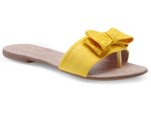 Tamanco Feminino Dudinha Travessa 03 Amarelo