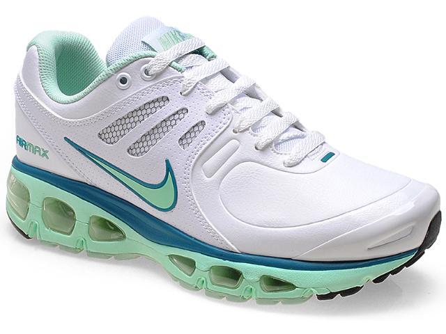 Tênis Feminino Nike 526327-105 Wmns Air Max Tailwind 2010 Branco/verde Claro