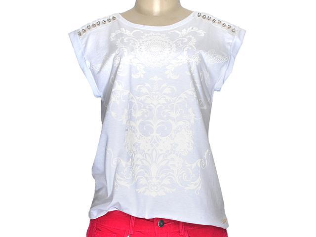 Blusa Feminina Dzarm 6jt5 Noa10 Branco