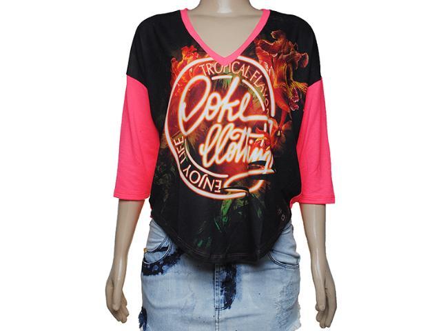 Blusa Feminina Coca-cola Clothing 343200772 Pink