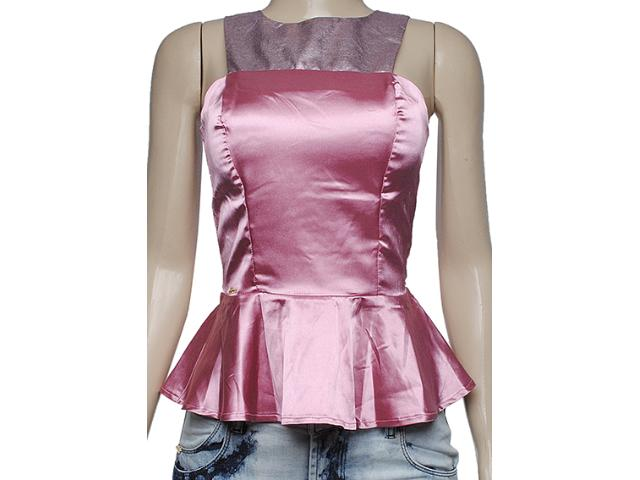 Blusa Feminina Dopping 015653535 Rosa Metal