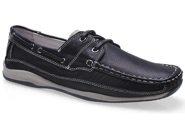 Sapato Masculino Ferricelli Ph1622fp Petróleo/cinza