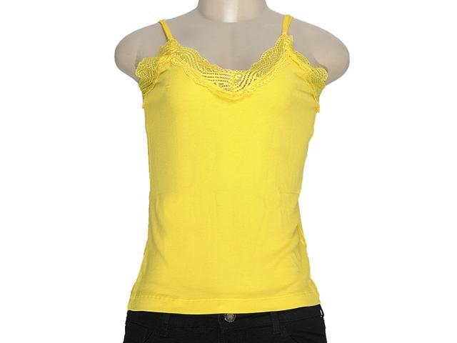 Regata Feminina Moikana 11157 Amarelo