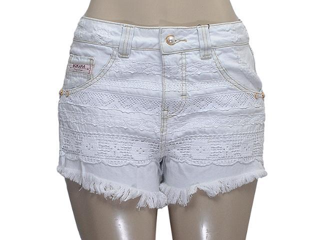 Short Feminino Moikana 11881 Jeans Claro